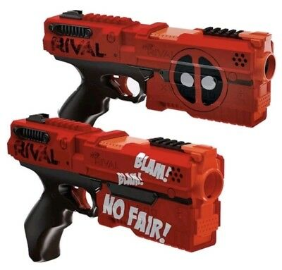 Nerf Rival DEADPOOL Kronos XVIII-500 Dual Pistol Guns 2-Pack limited edition NEW