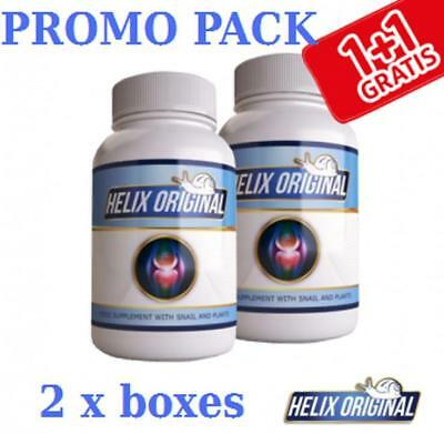 2 x BOTTLES HELIX ORIGINAL 100% Natural /Promo Pack/ Total 60 capsules