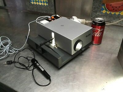 Vintage Rollei Type P350a Slide Projector With Remote Focus Microphone 150w qzzq
