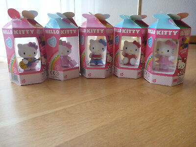 Hello Kitty Stempel Set von Sanrio 5 Stempel Figuren Neu
