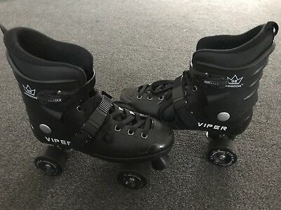 Viper roller boots size 7