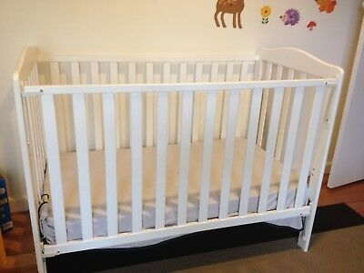 Baby cot and mattress