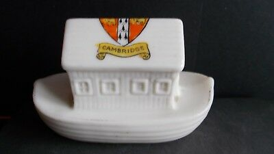 Crested China Noahs Ark - University Of Cambridge Crest