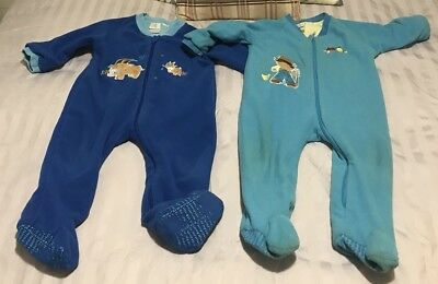 2 X Snugtime Sleeping Suits