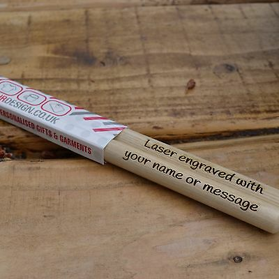 Personalised Drumsticks,  Quality Hickory - Size 5A Drum Sticks  1 Day Dispatch