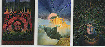 David Cherry - Lot Of 3 Different Metallic Chase Cards NM FPG 1995