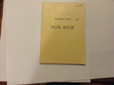Australia Army note book 1973 issue Vietnam War as new