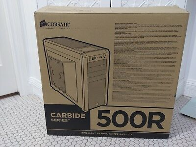 PC Carbide Series 500R Mid-Tower Case Only