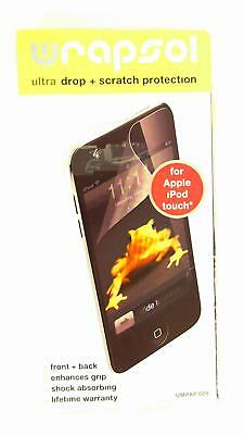 WrapSol 4CGMzt1 Ultra Drop & Scratch Protection For iPod Touch Case Clear