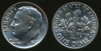 United States, 1973 Dime, Roosevelt - Uncirculated
