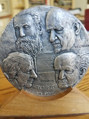 """Pure Silver Medal """"israel: A Dream Fulfilled"""""""