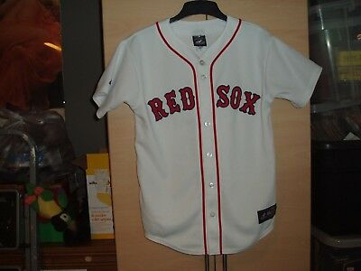 Mlb  Boston Red Sox Baseball Shirt Official Size Large In Mint Condition