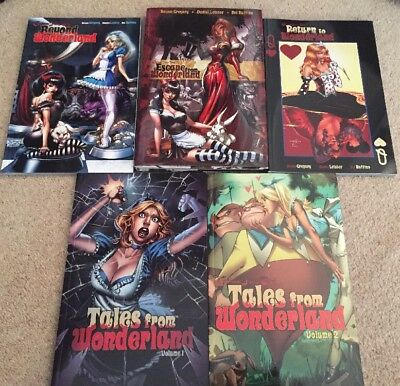 Grimm Fairy Tales Wonderland Graphic Novel Set Beyond Escape From Return To
