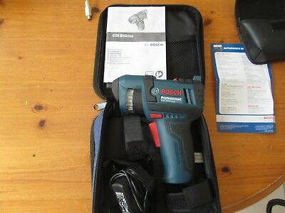 Bosch Professional Gsr Rechargable Screwdriver With Auto Bit Feed