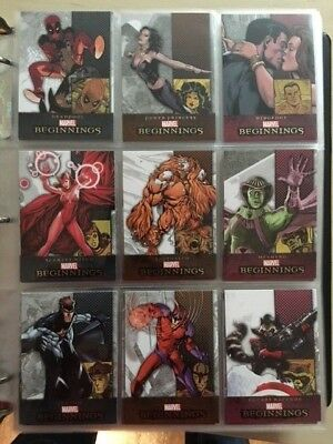 Huge Marvel Card Collection Lot UD Marvel Now Rittenhouse - over 2800 cards