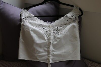 Lot 2 Vintage Bien Joile Corset Cover Camisole and 100% Cotton Nightgown!!!