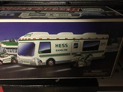 1998 Hess Truck Recreation Van with DUNE BUGGY and MOTORCYCLE -  new in box