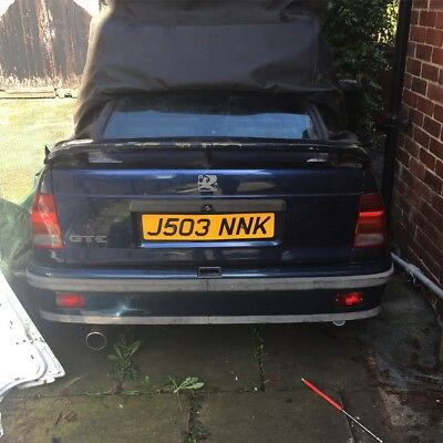 Mk2 astra gte cab project 8v