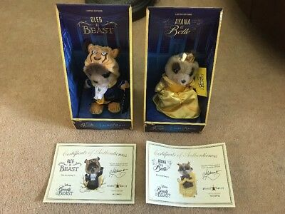 Belle and Beast Limited Edition Meerkat Toys Beauty And The Beast Ayana And Oleg