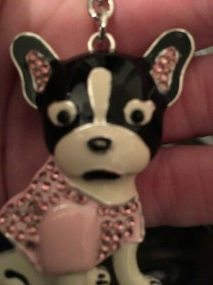 Cute French Bulldog Lovers Key Chain or Purse Charm/US Seller