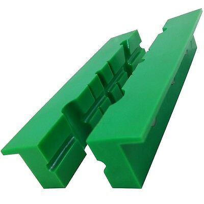"ATLIN Vise Jaws 6"" - Nylon, Non Marring Soft Jaws - Multi-Purpose Design for ..."