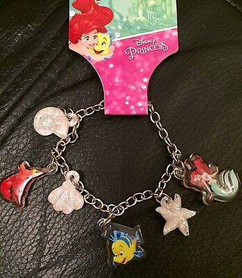 Primark - Disney - The Little Mermaid- Charm Bracelet - Children's - BNWT