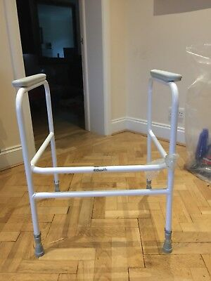 MOBILITY TOILET SEAT Frame Support Disability Disabled Aid Raised ...