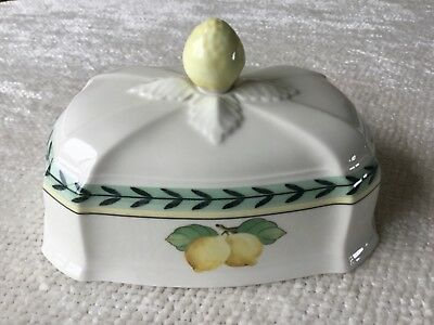 Villeroy & Boch French Garden Fleurence Covered Butter Dish ~ Lid Only ~ w/Chip