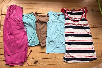 Maternity Summer Tops Bundle Size 8