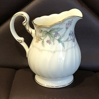 NORITAKE - BROOKHOLLOW - Bone China CREAMER - MINT & NEVER USED -