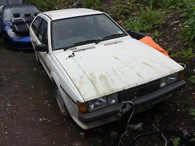 Vw scirocco speares or repair 1989 barn find