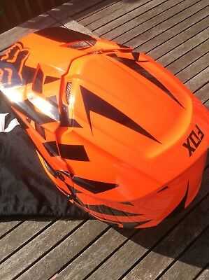 Youths/Adults - KTM/FOX Youths Motocross Helmet - Size Small