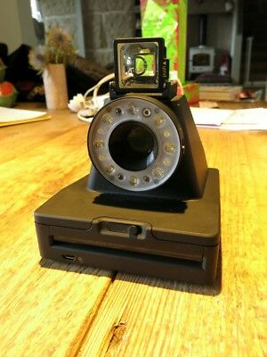 Impossible Project I-1 Analog Instant Camera - Black, use 600 Film