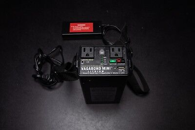 Paul C. Buff Vagabond Mini Lithium Battery with Charger Excellent