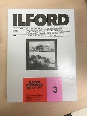 Ilford Ilfospeed RC Deluxe photo paper