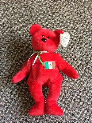 """TY Beanie Baby """"OSITO"""" Bear 1999  RETIRED WITH ALL TAGS"""