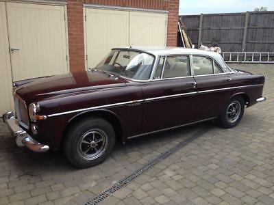 Rover P5b coupe 1968 1 previous owner 44,700 miles