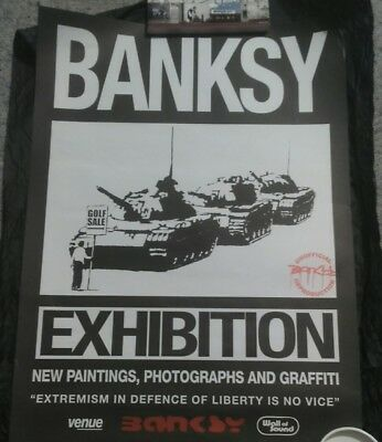 Banksy - Exhibition Poster, Golf Sale, Limited To 500