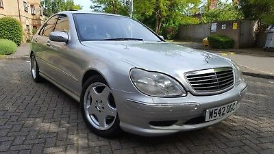 2000 Mercedes-Benz S500 AMG V8 Auto / 1 owner from new / Immaculate W220