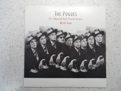 The Pogues If I Should Fall From Grace With God Vinyl Record 1St Press Awesome