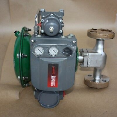"Fisher Control Valve 24588SVF CL300 1/2"" NPS80mm DVC6200 ACTUATOR Fieldvue Hart"