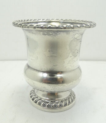 Nice Mueck- Cary Co. Inc. Sterling Silver Toothpick Holder A7601