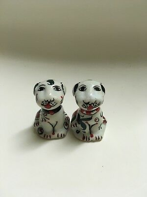Two Pottery Dogs