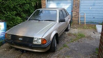Ford Escort Mk3 1.6 Ghia 1984 Barn Find Complete Spares Repair Rs Turbo Xr3I Etc