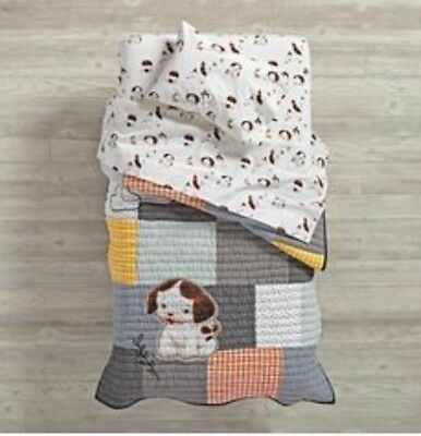 Land of Nod - Poky Little Puppy Bed sheets (NWOT) for toddler bed/crib