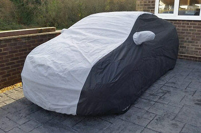 Any PORSCHE Outdoor Tailored, Breathable CUSTOM Car Cover - Black & Grey