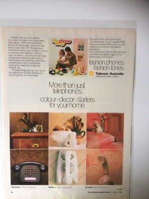 Magazine Clippings - Telecom Advertisement (One Sided)