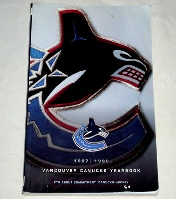 Vancouver Canucks 1997/98 Media Guide