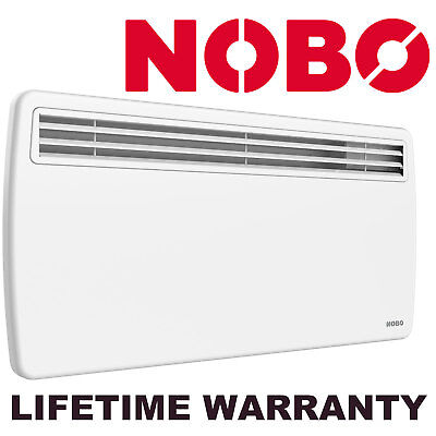 Nobo Q150 1500W Convection Wall Mounted IP24 Rated 1.5kW Panel Heater Q150