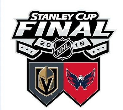 2018 Stanley Cup Final Pin Washington Capitals Vegas Golden Knights Dueling Win